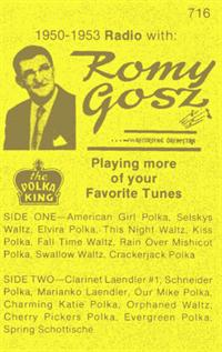 Romy Gosz and his Orchestra - Vol 16 Romy on Radio 1951-1953