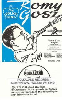 Romy Gosz and his Orchestra - Vol 14 1960 Recording Session