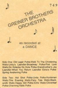 Greiner Bros Orchestra - Vol 3 Recorded At A Dance