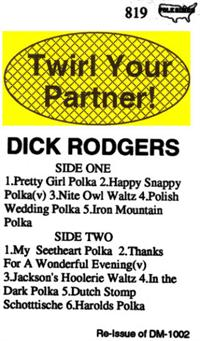 Dick Rodgers and his TV Recording Orchestra - Vol 11 Twirl Your Partner  DM 1002