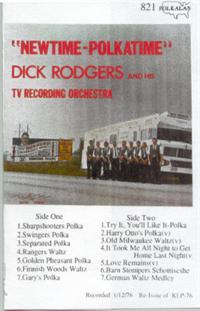 Dick Rodgers and his TV Recording Orchestra - Vol 6 Newtime Polkatime - 1973