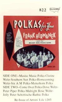 Frank Hermanek and the Melody Men - Vol 1 Polka for You