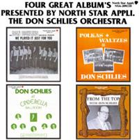 Don Schlies and his Orchestra - Four Great Albums Presented by North Star Appli.