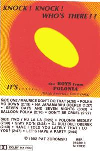 Pat Zoromski and the Boys From Polonia - Knock! Knock! Who's There ??