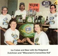 Ridgeland Dutchmen and Wisconsin's Conertina Kid - Ice Cubes and Beer